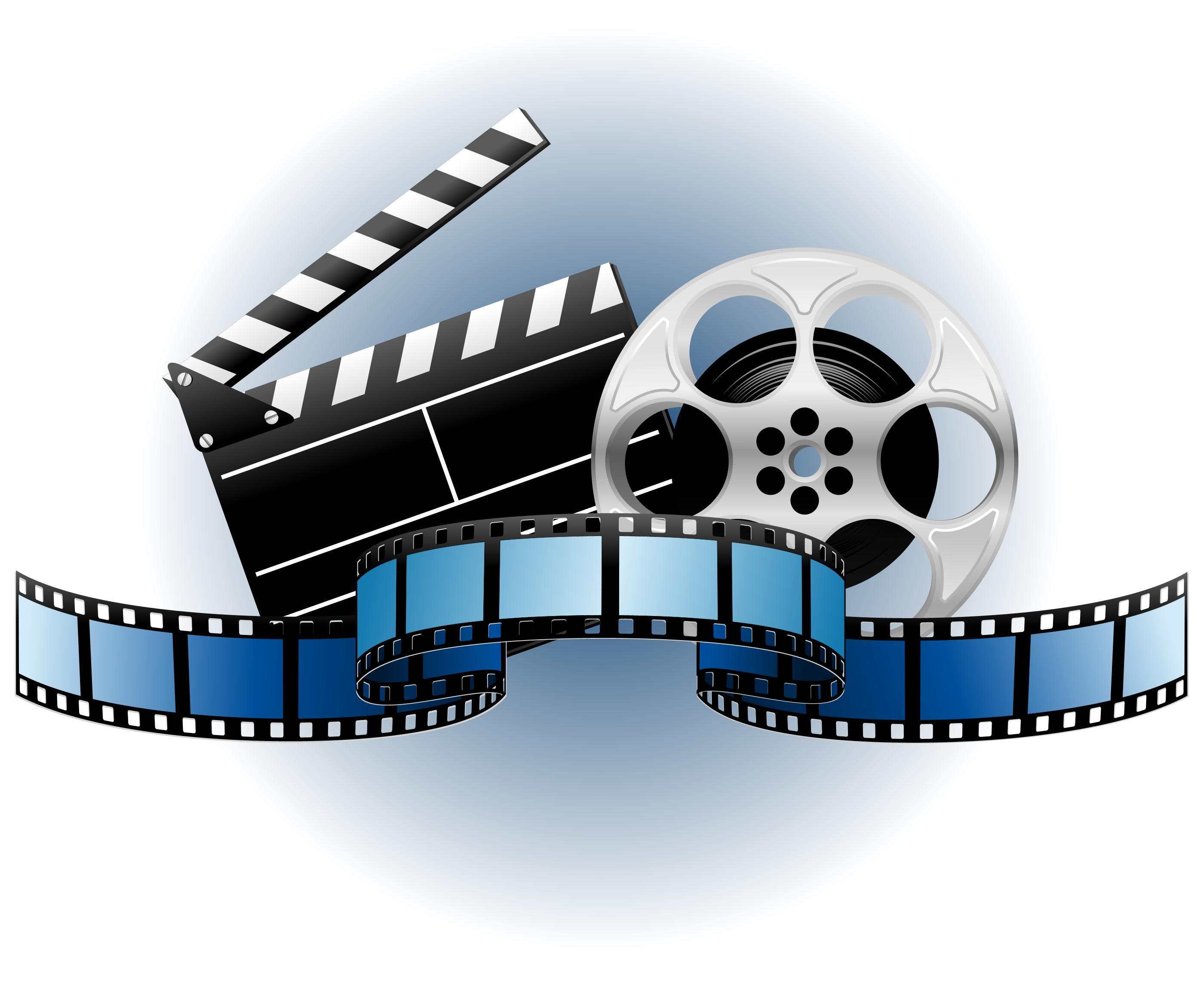 Movie Film Clip Art Free